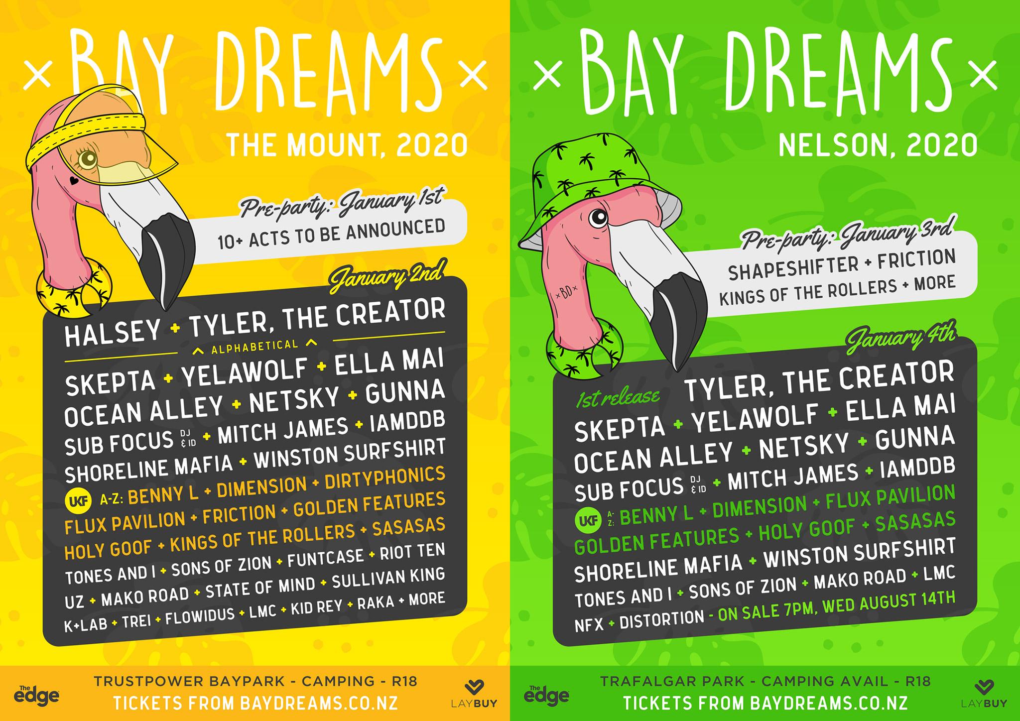 Uf Calendar 2020.Bay Dreams Festival Is Back For 2020 Ambient Light