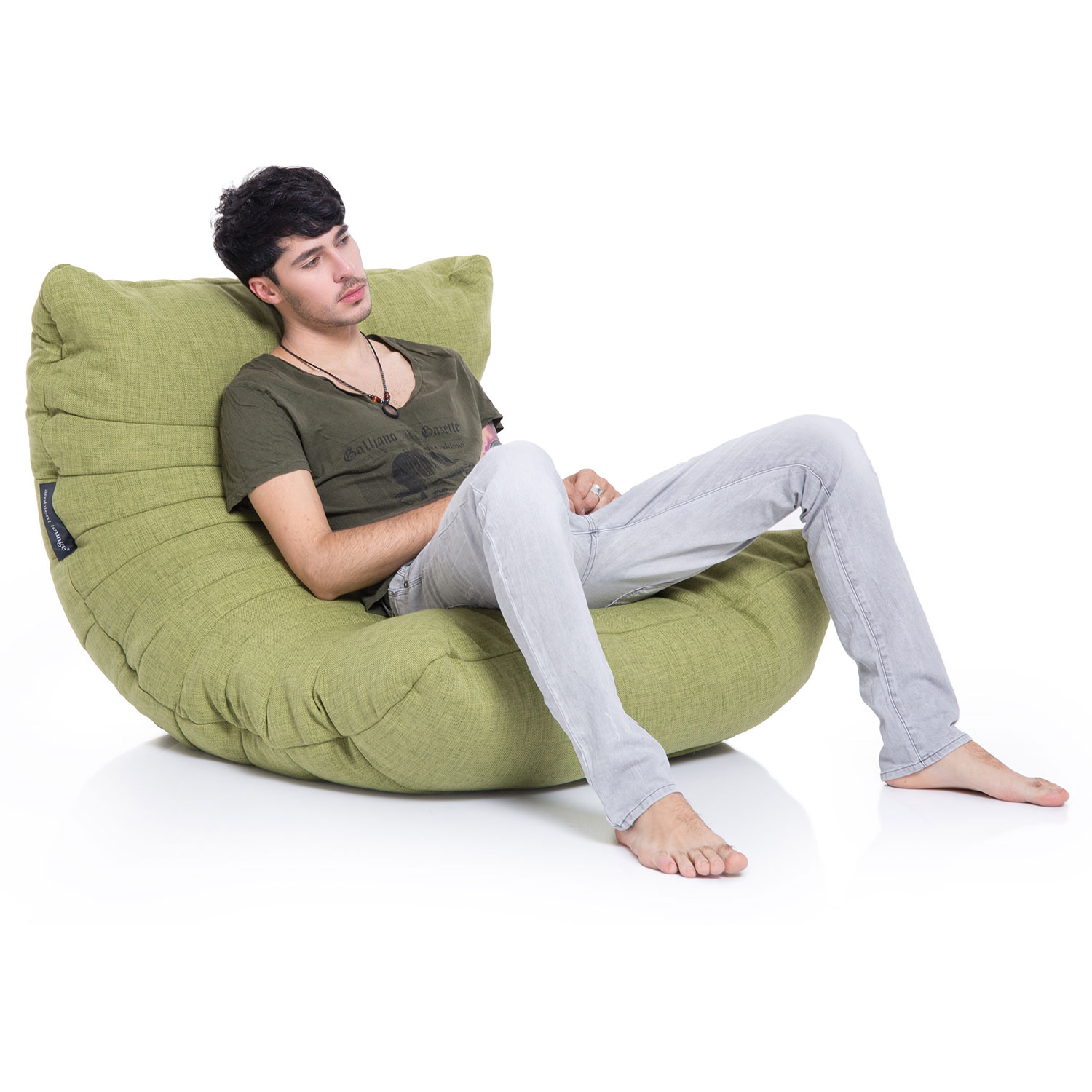 two person bean bag chair stores near me interior bags acoustic sofa lime citrus