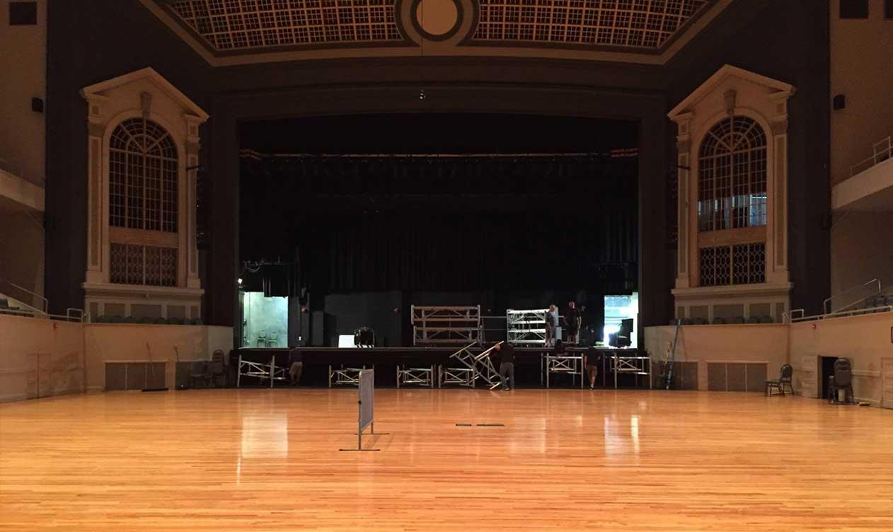 Before-Township Auditorium