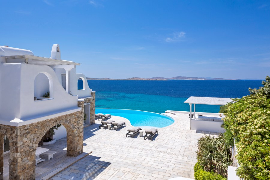 Villa Sunset Gold, Mykonos Greece