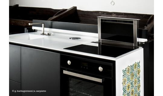 compact kitchens kitchen remodel seattle aretusa monobloc retractable technology and product picture 01 of tradition