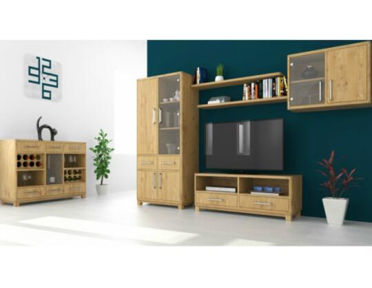 oak furniture set living room wall color solid by boksit joint stock co product picture 01 of in wardrobes