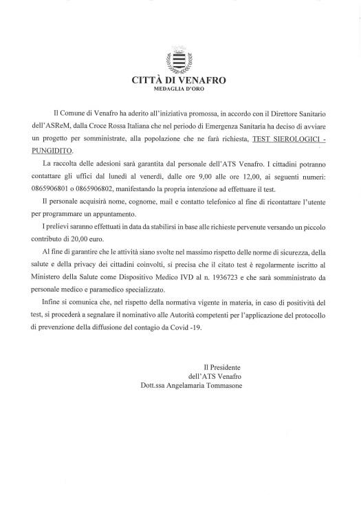 Progetto_SOMMINISTRAZIONE_TEST_SIEROLOGICI_PUNGIDITO-721x1024 SOMMINISTRAZIONE TEST SIEROLOGICI PUNGIDITO