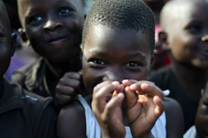 Happy Children in Africa