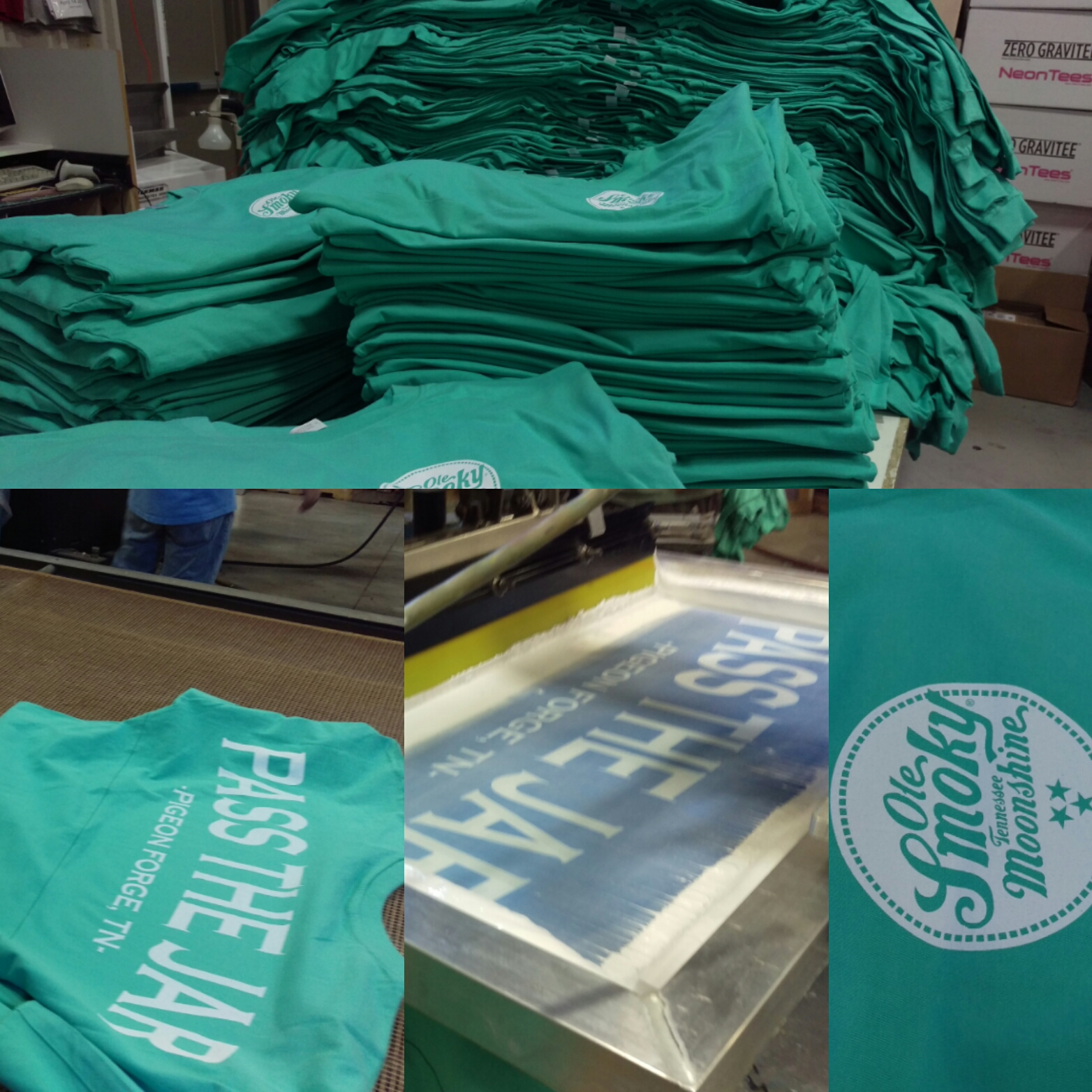 screen printing services screen