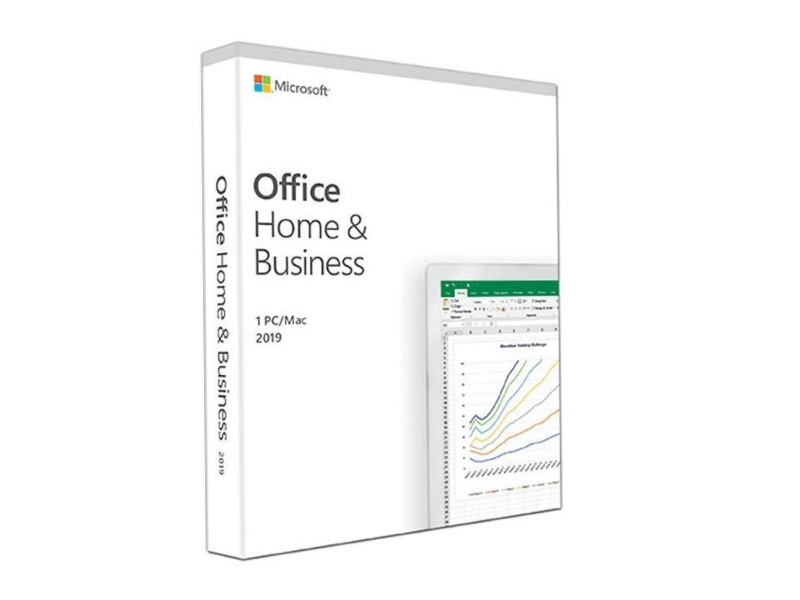 Microsoft Office Home and Business 2019 (Product Key Card