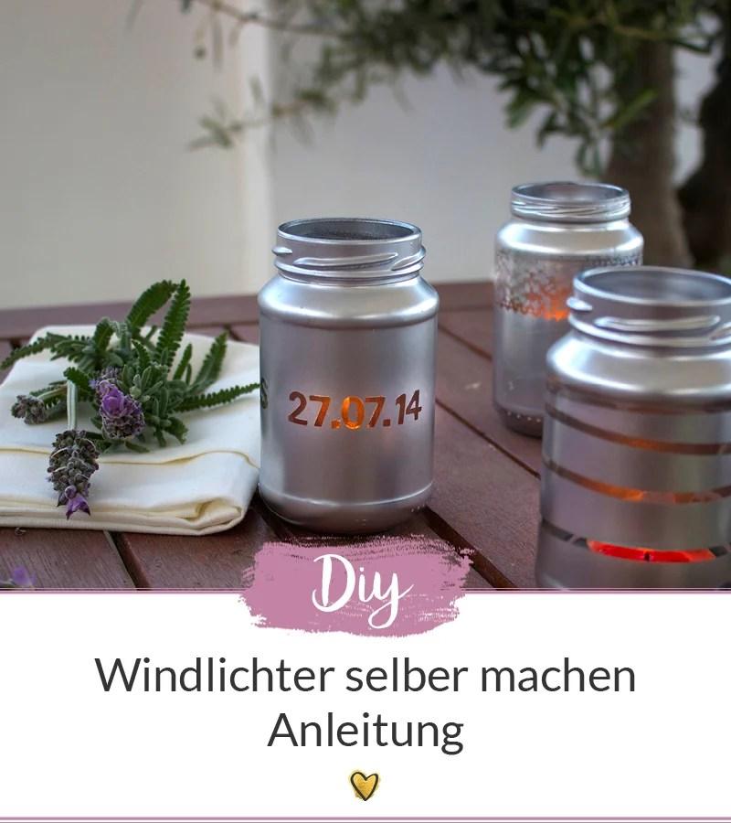Windlichter Selber Machen Diy Anleitung Für Schöne Tischdekoration