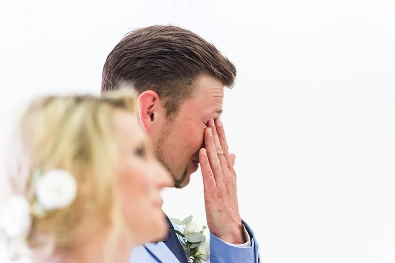 Tränen der Rührung