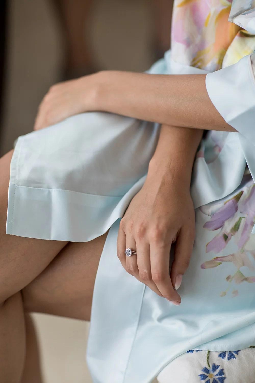 Heiraten im Ausland Getting ready der Braut, Brautstyling