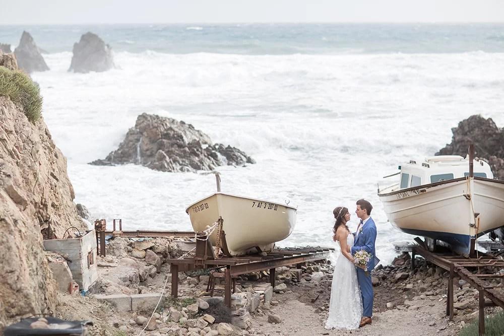 Heiraten im Ausland am Strand in Spanien
