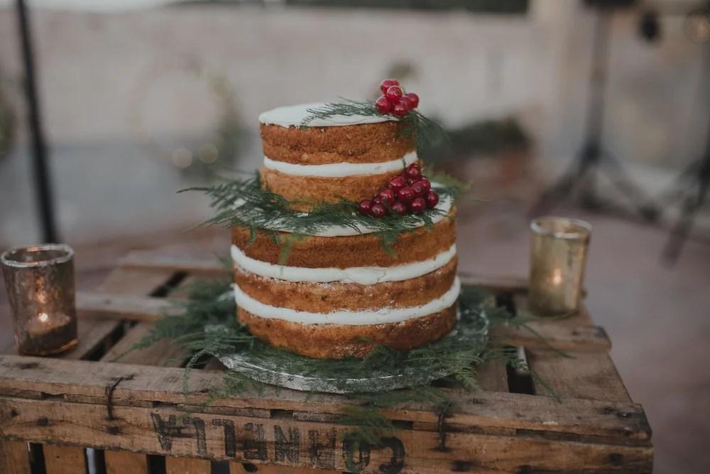 Hochzeitstorten Ideen Naked Cake