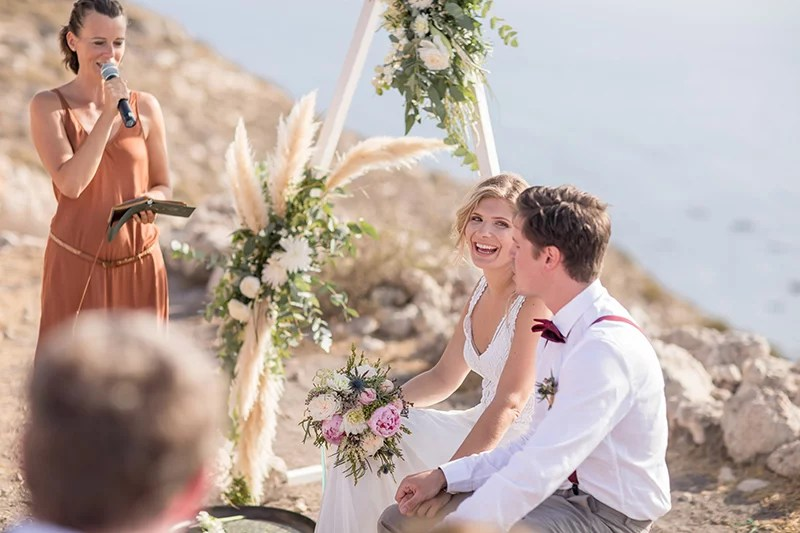 Festival Wedding in Spanien