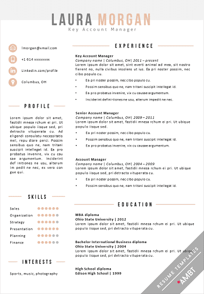 Ben osterfeld view resume interning at huntington bank capital markets, columbus, summer 2021 ben osterfeld is a student in the fisher college of business from cincinnati, ohio pursuing a bsba in finance and economics. Creative Word Resume Template Ohio Ambt Resume Template