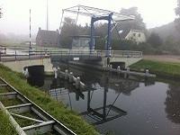 Wittelterbrug op wandeling over Drenthepad van Diever naar Wittelte