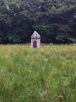 Duiventil Nienoord op een wandeling over het Drenthepad van Peizerwold naar Roden