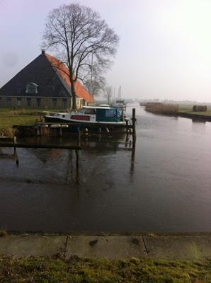 Wandelen over het Groot Frieslandpad in Niijhuizum