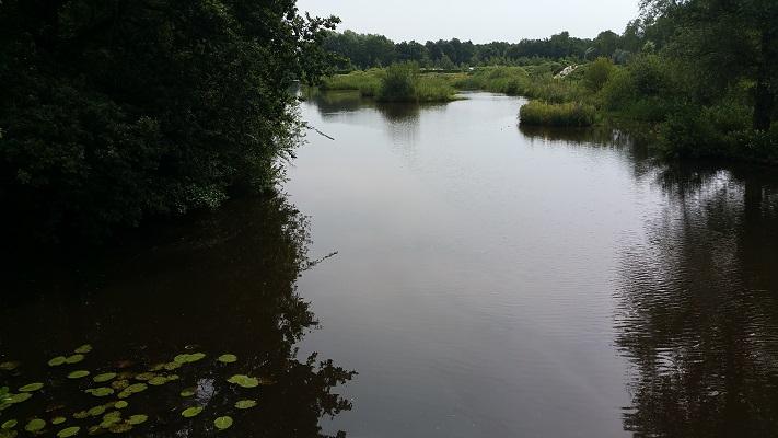 Wandelen over het Groot Frieslandpad bij de Ruiten Aa