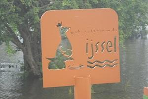 Wandelen over het Hanzestedenpad bij de IJssel