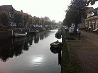 Hasselt tijdens een wandeling over het Hanzestedenpad van Hasselt naar Kampen