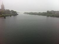 IJsseldelta tijdens een wandeling over het Hanzestedenpad van Hasselt naar Kampen