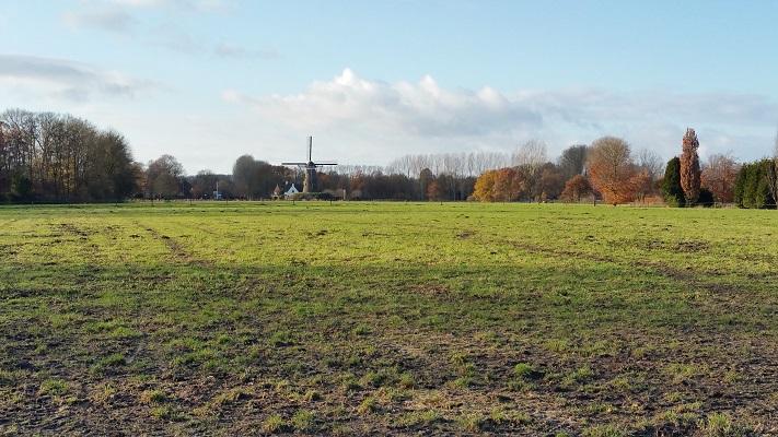 Molen de Roosdonck tijdens een wandeling in het spoor van Van Gogh in Nuenen