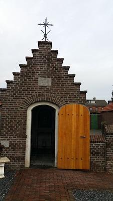 Kapel bij Middelaar op een wandeling over het Maaspad van Beugen naar Cuyk