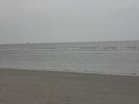 Noordzeestrand op een wandeling over het Nederlands Kustpad van Bergen aan Zee naar Egmond aan Zee