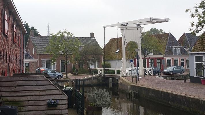 Franeker op een wandeling over het Nederlands Kustpad van Franeker naar Harlingen