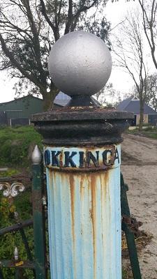 Okkinga richting Wijnaldum op een wandeling over het Nederlands Kustpad van Franeker naar Harlingen