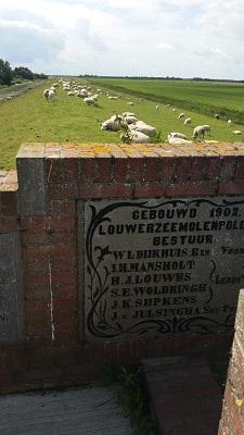 Hunsingokanaal op een wandeling van Lauwersoog via Niekerk naar Ulrum over het Nederlands Kustpad