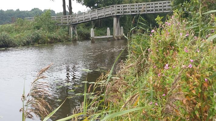 Ruiten Aa op een wandeling over het Noaberpad van Weddermeer naar Ter Wupping