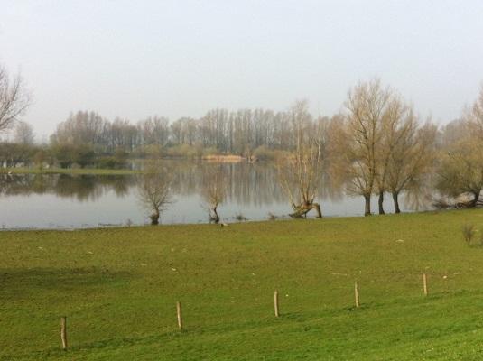 Wandelen over het Oudste Wandelpad van Nederland bij natuurgebied De Blauwe Kamer