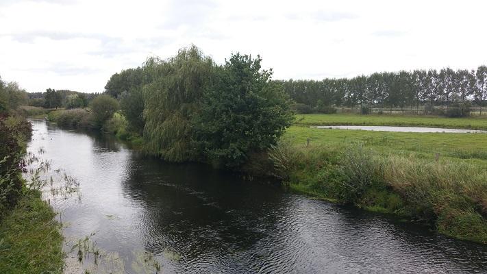 De Dommel tijdens een wandeling van Liempde naar Schijndel over het Roots Natuurpad