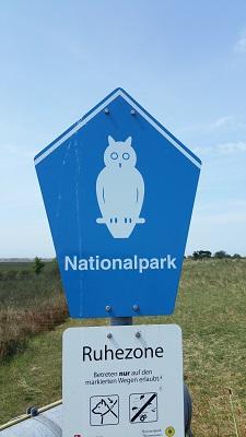 Nationalpark in een wandeling WaddenWandelen op Borkum