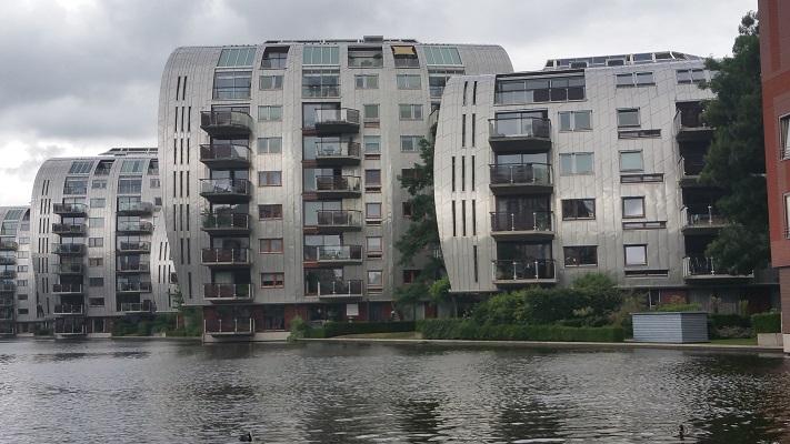 Gebouwen RIVA tijdens wandeling Hedendaagse Architectuur in Den Bosch