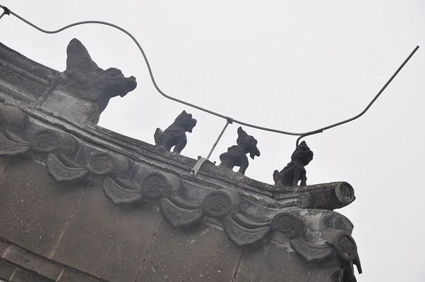 De Chinese Muur tijdens wandeling in China
