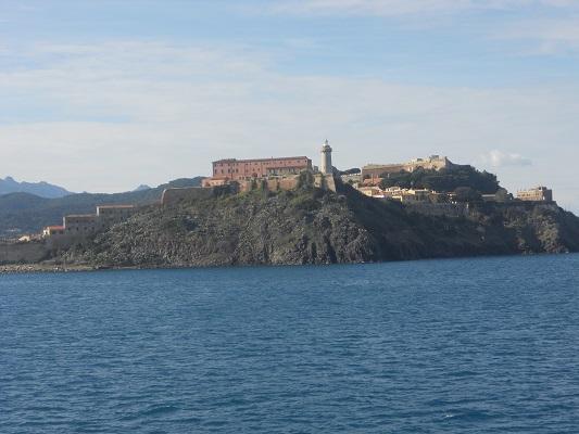 Stadswandeling Portoferaio op wandelreis naar Italiaans eiland Elba