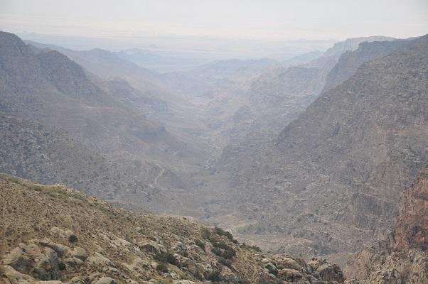 Natuurreservaat tijdens een wandelreis van SNP door Jordanië