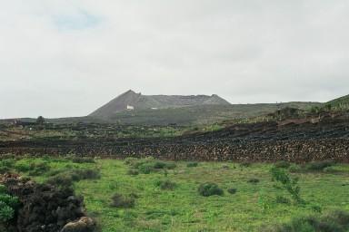 Lavavelden bij Haria tijdens een wandelvakantie op Canarisch Eiland Lanzarote