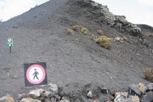 Vulkanen op zuid Palma tijdens wandelreis naar Canarisch Eiland La Palma