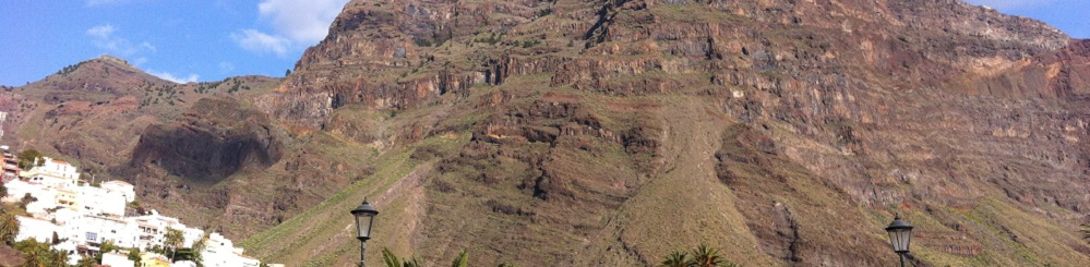 Bergdorp La Calera op Canarisch eiland La Gomera