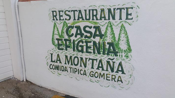 Wandeling op Canarisch Eiland La Gomera van Arure naar Las Hayas bij Casa Efigenia Bar La Montana