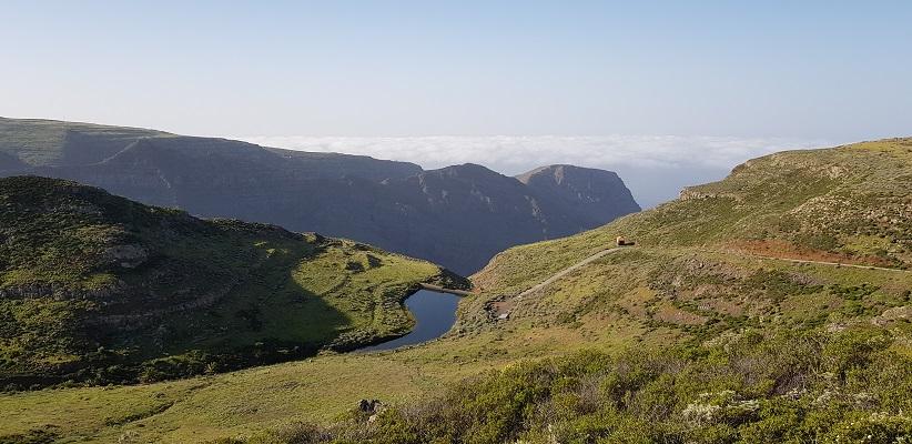 Wandeling op Canarisch Eiland La Gomera van Arure naar Las Hayas