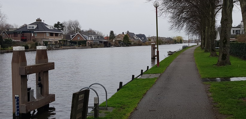 Wandelen over het Romeinse Limespad langs de Oude Rijn in Bodegraven