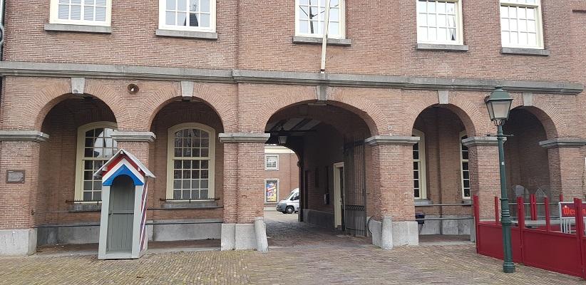 Fort Sint Gertrudis in Geertruidenberg op een wandeling over de Zuiderwaterlinie van Oosterhout via Geertruidenberg naar Hooipolder