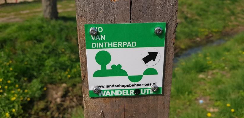 Wandeling over het Ivo van Dintherpad in Geffen