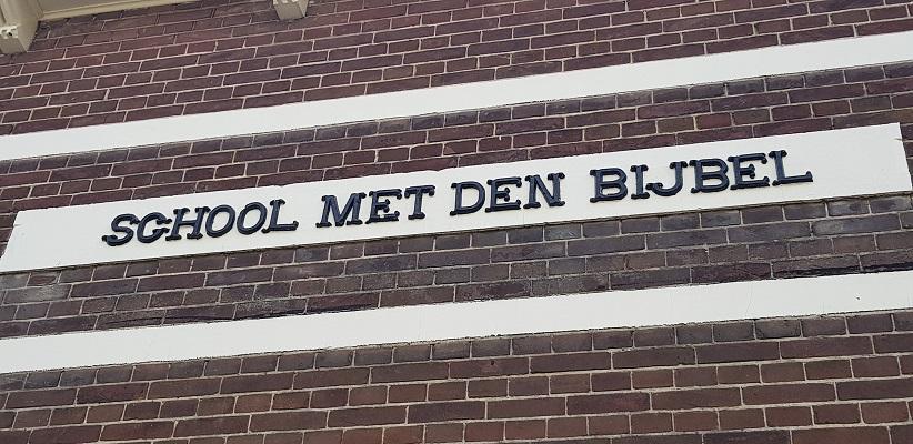 Wandelen over het Romeinse Limespad van Driebruggen naar Woerden bij school met den Bijbel in Papekop