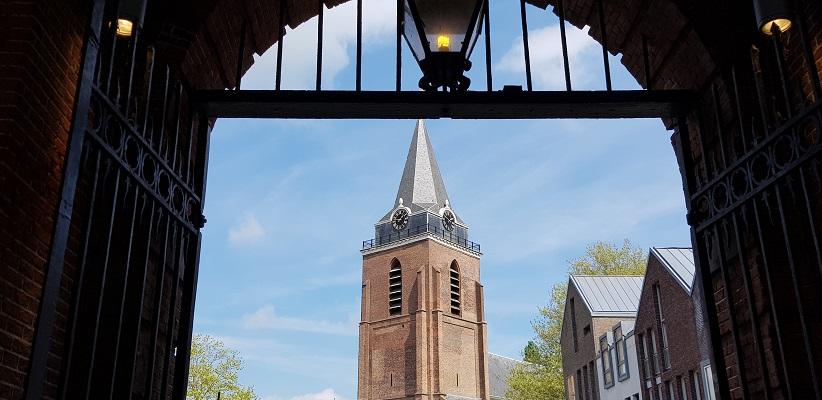 Wandelen over het Romeinse Limespad van Driebruggen naar Woerden bij de Petruskerk