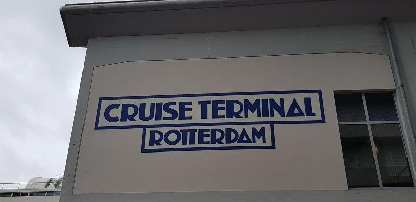 NS-wandeling Rotterdam Maasstad bij de Cruise Terminal