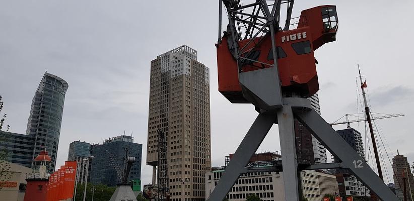 NS-wandeling Rotterdam Maasstad bij de Leuvehaven
